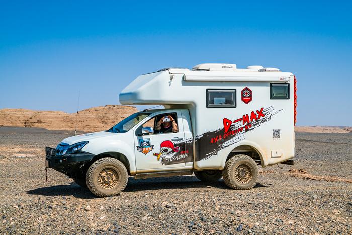 推荐一款很适合喜欢旅游又爱车的朋友-- 速腾d-max越野房车