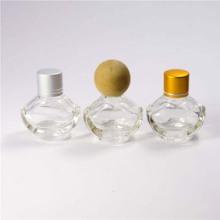 供应元宝形香水瓶批发订做 香水玻璃瓶批发