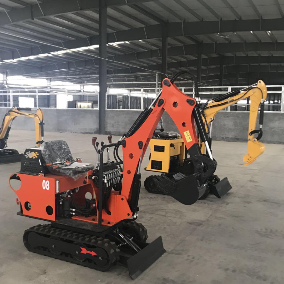 供应 小型挖掘机 360度旋转家用挖掘机厂家