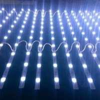 led卷帘灯条,超薄广告灯箱光源,3030漫反射灯条,软膜天花12V防水高亮 漫反射3030