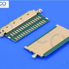 XYCO 厂家直销焊接式连接器20454屏线专用焊接式连接器 现货包邮批发