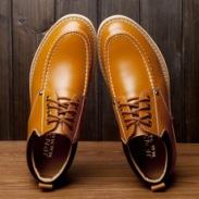 男士休闲鞋皮鞋图片