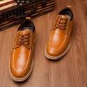 商务休闲皮鞋贴牌加工图片