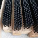 厂家专业生产 各种毛刷 尼龙条刷 双钢带毛刷条  木柄条刷 塑料毛刷条 尼龙长毛刷 木长条刷