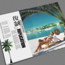 海口厂家专业定制设计印刷地产楼书画册宣传折页海报精品楼书批发