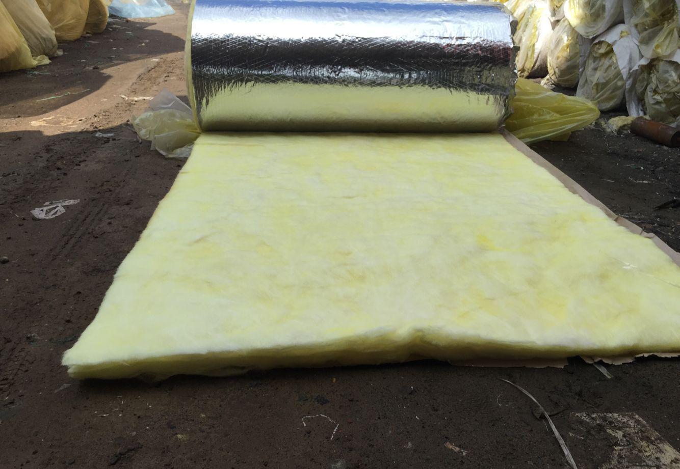 厂家直销玻璃棉毡 管道钢结构隔热用保温棉 保温建材材料卷毡 厂家直销吸音玻璃棉卷毡