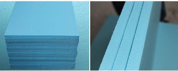 京都顺发  蓝色挤塑 厂家直销 规格定制 京都顺发 B1级防火XPS挤塑板