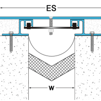 铝合金伸缩缝价格 铝合金伸缩缝