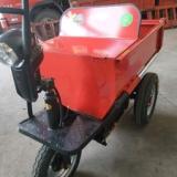 厂家出售电动拉砖车 工地工程电动三轮车