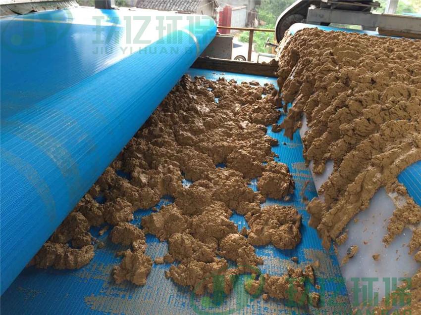 砂场泥浆脱水