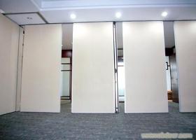 西安厂家会议室超白焗漆玻璃移动隔
