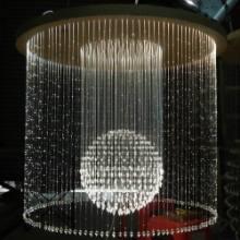 厂家生产LED光纤灯光纤吊灯满天星非标造型设计图片