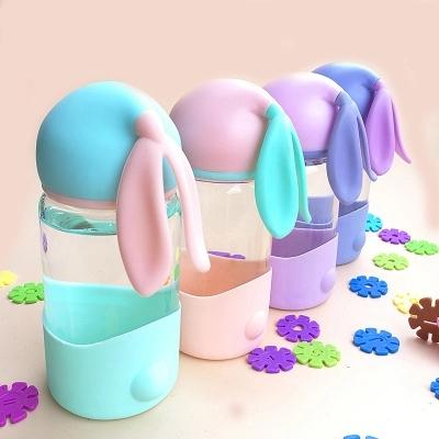 水杯玻璃,兔子杯,萌萌杯可爱,供应兔子杯,萌萌杯可爱直销,水杯玻璃厂家
