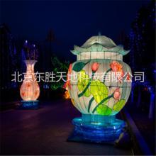 北京灯会灯展制作工厂-传动工艺与现代文化结合 彩灯图片