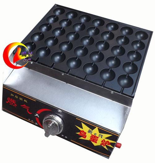 不粘层燃气烤鹌鹑蛋机价格便宜了,街头摆摊2元烤鸟蛋炉,液化气烤鹌鹑蛋机多少钱