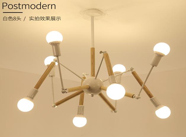 厂家LED现代灯后现代新款时尚简约大方美式北欧款 美式北欧风格 LED美式风格 美式的风格