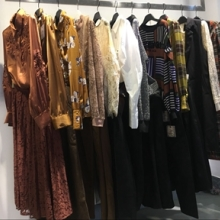 外贸尾货服装低价处理深圳品牌折扣女装批发图片