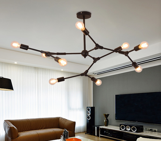 厂家LED现代灯后现代新款时尚简约大方美式北欧款 美丽的风格设计 美丽的北欧风格 美丽的美式风格