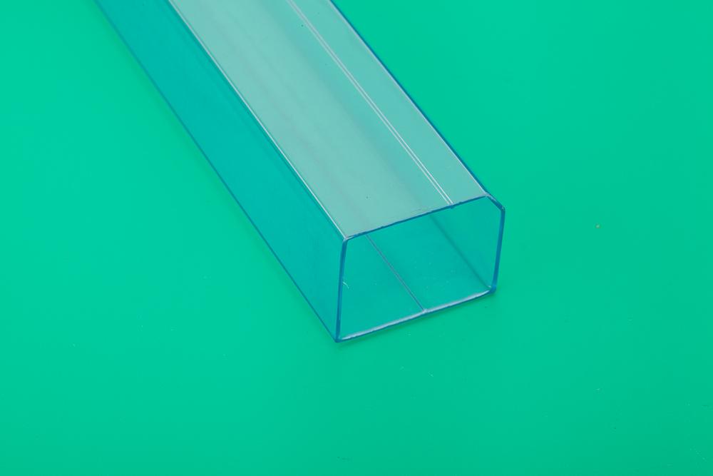 电子元件产品包装塑料管 透明方形管厂家