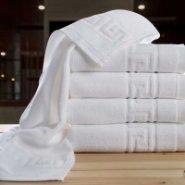 客房酒店浴场一次性白毛巾吸水图片