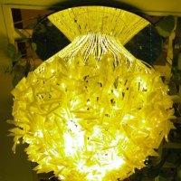厂家LED光纤灯现代灯后现代新款时尚简约大方美丽的风格设计 LED满天星 LED光纤吊灯 LED凌乱吊灯 光纤定制吊灯