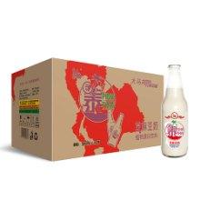 大马邦300ml瓶装芝麻豆奶,植物蛋白饮料厂家招商代理批发