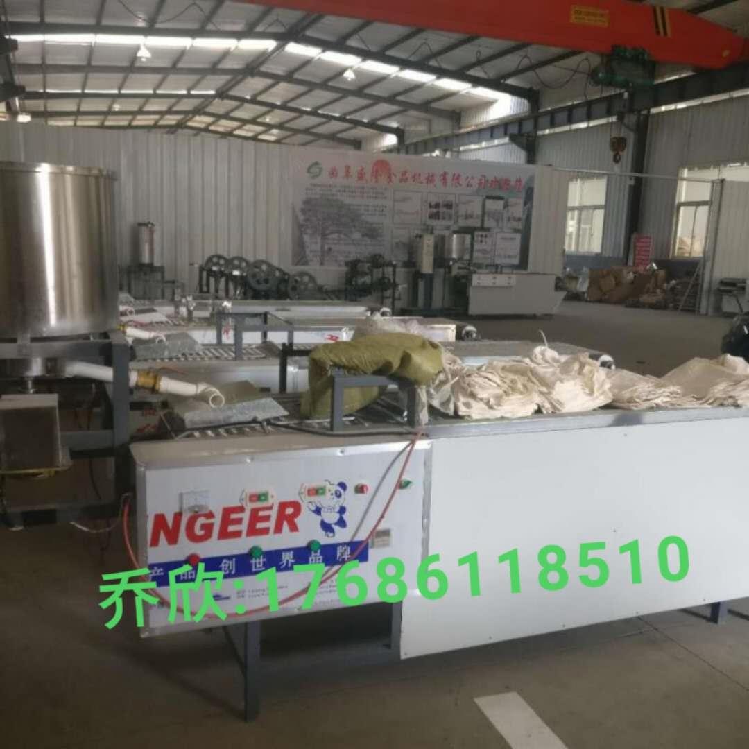 节能环保千张豆腐皮机 贵州贵阳盛隆商用半自动仿手工豆腐皮机优惠促销