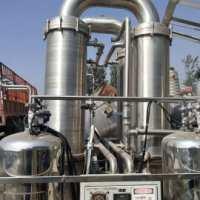 出售二手三效5吨降膜蒸发器 出售蒸发器 低价蒸发器 蒸发器厂家直销 报价蒸发器