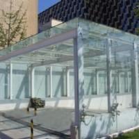 江苏玻璃雨棚 苏州玻璃雨棚直销  扬州玻璃雨棚厂家