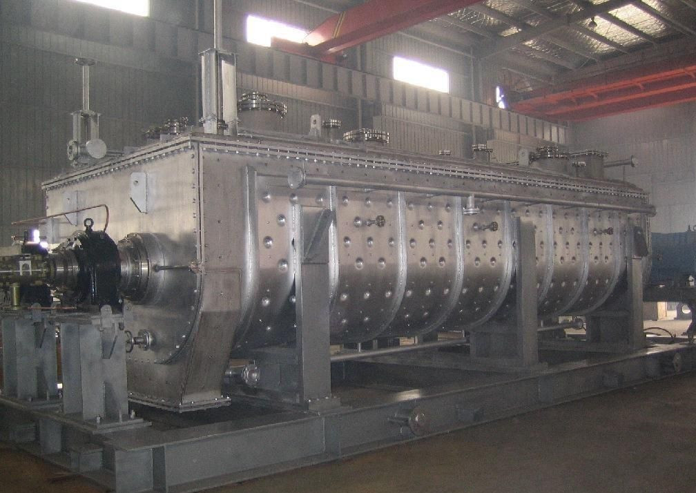 上海干燥设备 污泥脱水设备 空心桨叶干燥机 造纸污泥烘干机