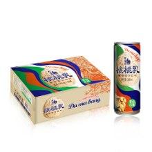 大马邦240ml核桃乳,罐装植物蛋白饮料批发