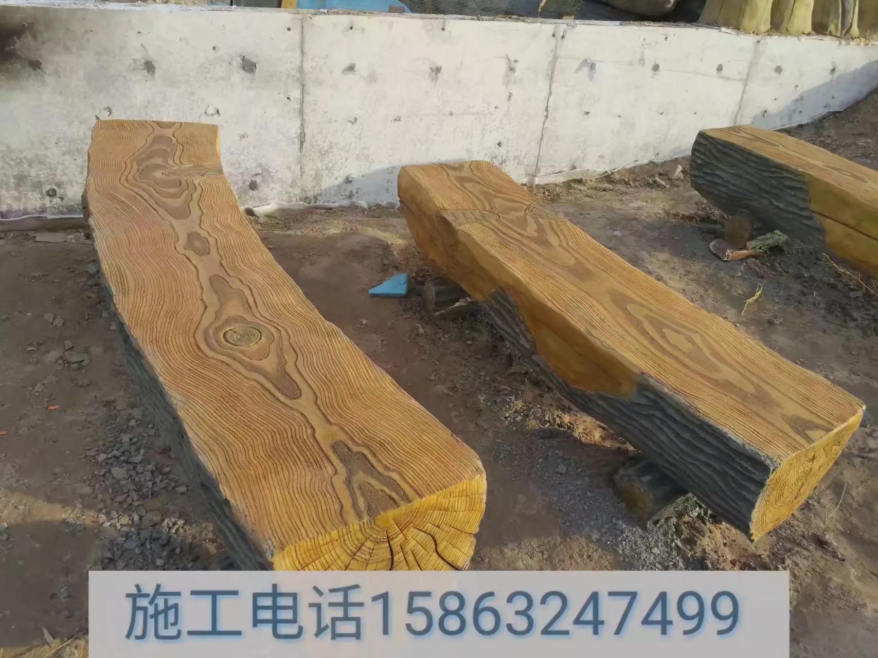 供应拟木房子 拟木栏杆