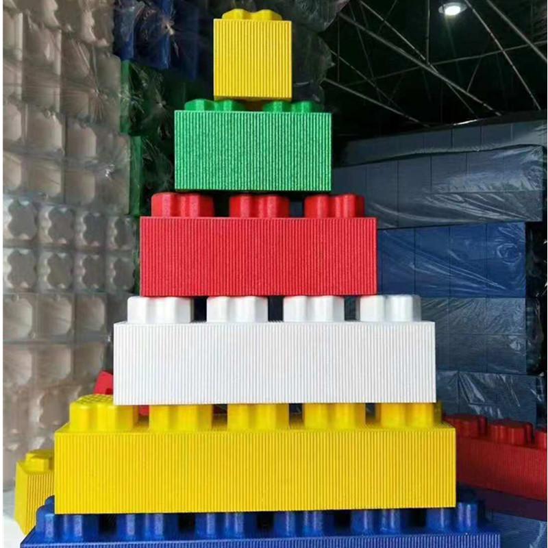 益智EPP积木玩具乐高积木 直销1孔2孔3孔方砖积木 epp