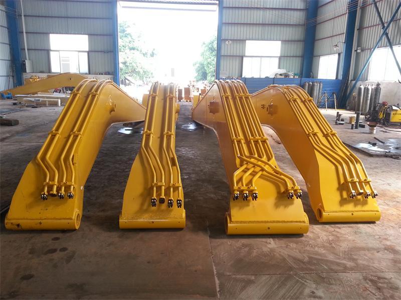 钩机加长臂改装 、钩机加长臂厂家、专注生产15米18米至32米加长臂厂家 挖土机加长臂 挖机加长臂
