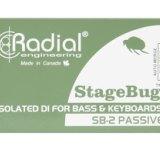 Radial SB-2 DI盒批发零售 现场电声乐器原声无源 DI 直插盒 无源立体声ID盒 非平衡输入DI直插盒