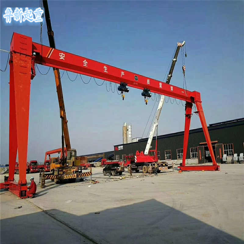 厂家直销 电动单梁门式行车 10t20t单双梁龙门  门式行车5吨10吨20吨