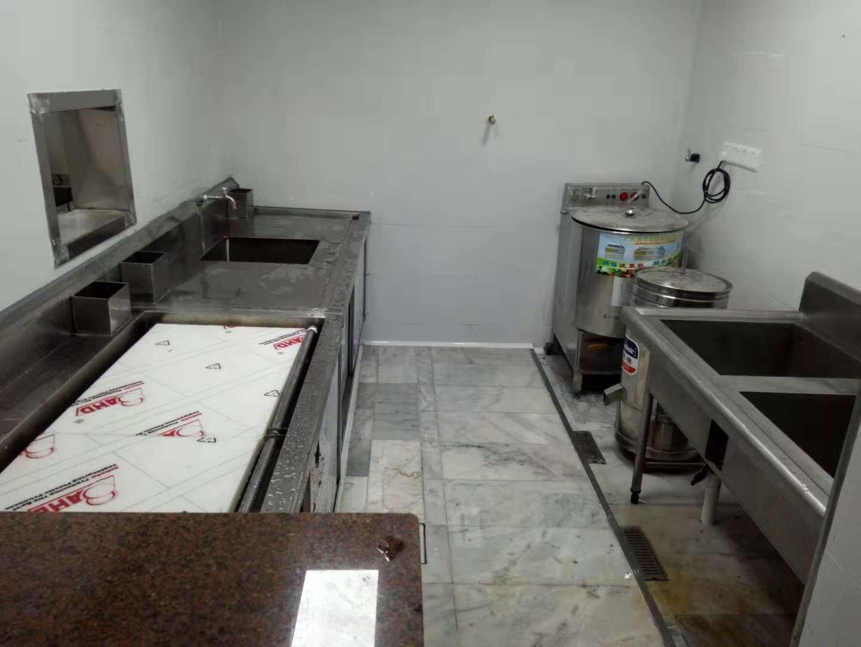 东莞恒耀厨房工程承包设计安装工厂食堂水台设备