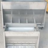 不銹鋼料槽采食槽養殖雙面料槽養殖用食槽系列