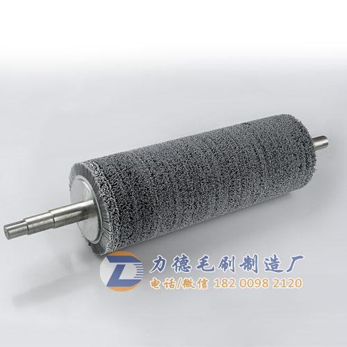 定做加工磨料丝毛刷辊,杜邦丝刷辊,磨料研磨辊,去锈去氧化皮抛光辊,钢铁板铝带除锈镜面打磨辊