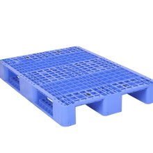 山东平板九脚塑料托盘  青岛餐具专用周转箱  烟台套叠式周转箩批发图片