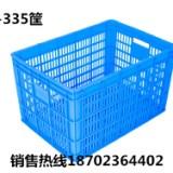 重庆570-335白色水果筐 塑料周转筐长方形塑料筐厂家直销 570-335筐