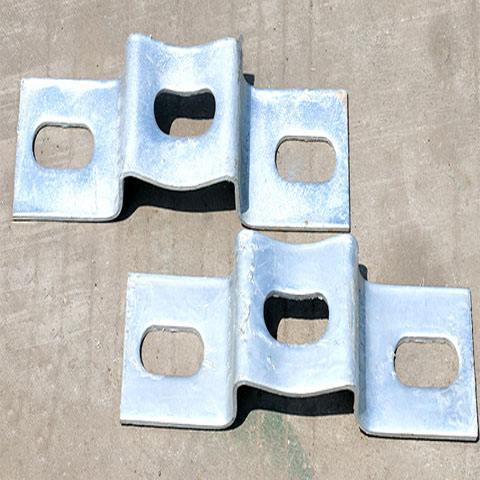 托架 护栏板托架定制 镀锌喷塑托架 护栏连接托架厂 护栏连接托架批发