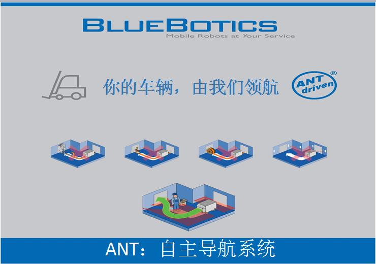 ANT激光导航系统模块 瑞士Bluebotics激光系统  CAN总线激光导航模块