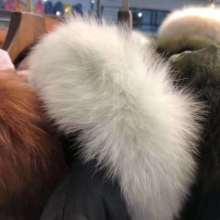 精致女装批发冬大毛领羽绒服品牌折扣一手货源批发图片