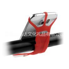 新款手机硅胶绑带 安卓苹果手机自行车支架 自行车手机硅胶绑带