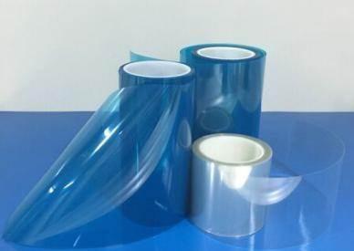 蓝色双层硅胶保护膜-厂家批发价格