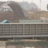 钢制翻板闸门 下卧式钢闸门 全钢制拼接门页 工控机泵站质量保证