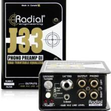Radial J33 膠木電唱機降噪DI直插盒批發零售 隔離變壓器 消除接地回路的噪聲DI直插盒 吉他DI盒圖片