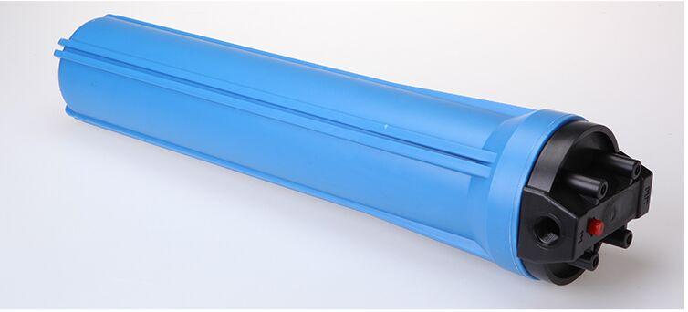 20寸蓝色滤瓶 净水机前置滤壳 带排气阀 3分4分6分1寸口