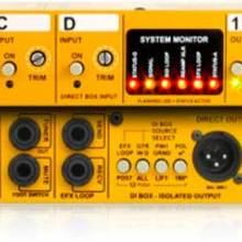 Radial JX44 4 x 4吉他信号放大分配管理器DI直插盒批发零售 隔离变压器 消除接地回路的噪声DI直插盒批发